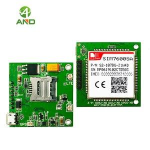 Image 3 - 1pc novo sim7600sa lte cat1 mini placa de núcleo, 4g sim7600sa breakout board para a austrália/nova zelândia/américa do sul