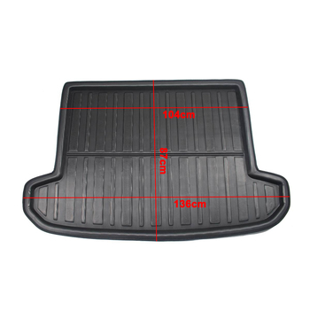 Mat Boot Liner Floor For Hyundai Tucson TL 2015 2016 2017 2018 2019 Car Tray Boot Liner Cargo Rear Trunk Cover Matt Carpet Mud image