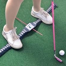 Golf Parallel Step Belt Exerciser Keep Balance For Pratice Enhancivestrap Trainer Three Colors