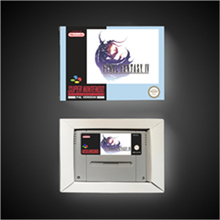 Jogo final fantasia iv 4 eur versão rpg jogo cartão bateria salvar com caixa de varejo