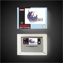 Juego Final Fantasy IV 4 batería para RPG, tarjeta de juego, versión europea, guardar con caja de venta al por menor