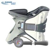 Надувной шейный ошейник для тяги шеи, приспособления для растяжения шеи, шейный ошейник для тяги, поддерживающий фиксатор ZHENDE