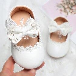 Одежда для новорожденных с цветочным рисунком детская одежда для детей дошкольного возраста, кожаные туфли для конкурсов красоты для мален...