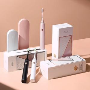 Image 5 - SOOCAS X3U звуковая электрическая зубная щетка перезаряжаемая ультра звуковая автоматическая зубная щетка для взрослых Водонепроницаемая Замена