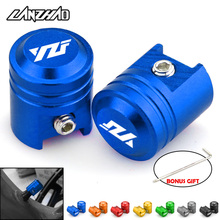 Yzf Motorcycle Tire Valve Air Poort Stem Cap Cover Plug Cnc Aluminium Motorfiets Accessoires Voor Yamaha Yzf R3 R25 R6 r1 2013 2019