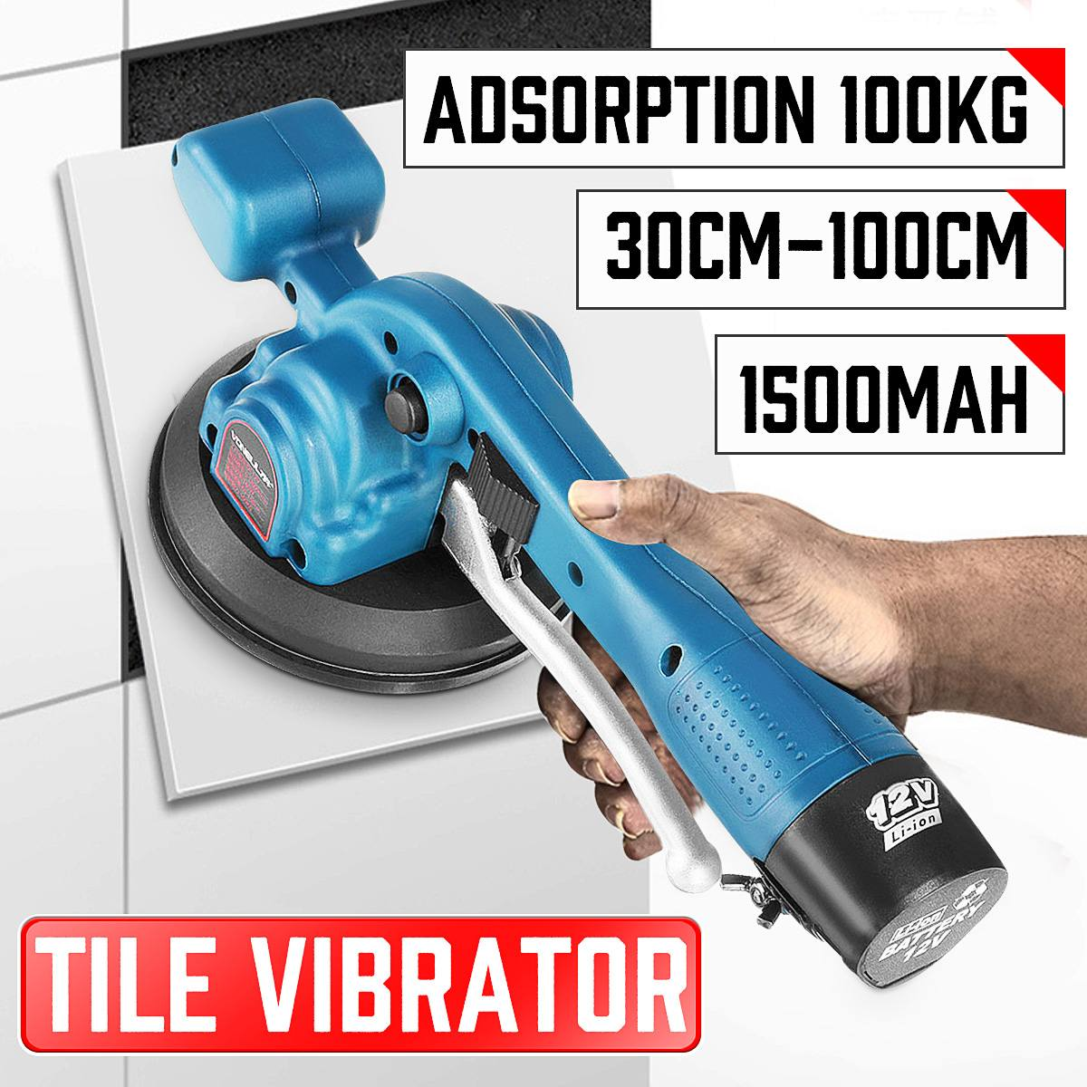 Professional Tiling Tool Auto Floor Tile Leveling Machine Construction Tools Tile Vibrator Pressure Tool Carrelage Outil