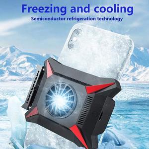 Image 5 - טלפון נייד Cooler עבור Smartphone אנדרואיד Huawei Xiaomi Sumsung iPhone מקרה PUBG משחק קירור זרוק טמפרטורת רדיאטור