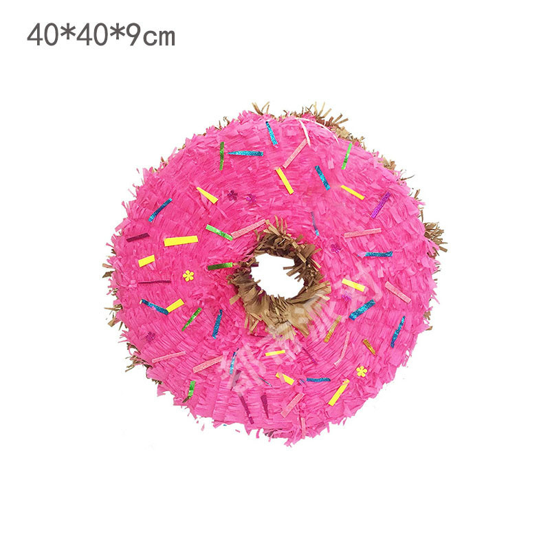 Pinata Children's Birthday Party Layout Candy Filled Tap Game Props Smashing Sugar Toys Party Supplies Donut PinAta