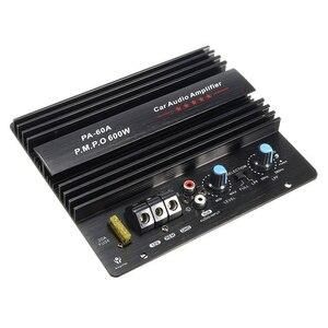 Image 2 - Altavoz PA 60A de 12V y 600W, Subwoofer, módulo de graves, accesorios de Audio de alta potencia para coche, tablero amplificador sin pérdidas duradero de canal único