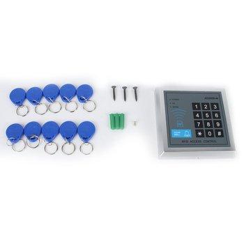 Przesuń palcem w kontroli dostępu ID pojedyncze drzwi urządzenie kontroli dostępu kontroler dostępu indukcyjna kontrola dostępu za pomocą karty AD2000-M tanie i dobre opinie ACEHE CN (pochodzenie)