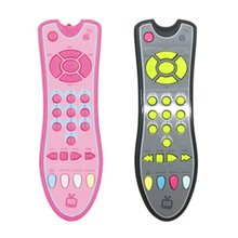 Baby Music Mobile Phone Learning Toys Colorful Electric TV Remote Cont
