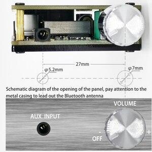 Image 5 - TPA3116 Bluetooth 5.0 HIFI stéréo numérique puissance Audio carte amplificateur 50W + 50W amplificateur stéréo AUX avec ajuster le Volume pour dc 12v 24v