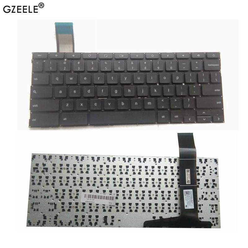 New Asus Chromebook C201P C201PA C202 C202SA Series Keyboard US Black