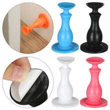 Door-Stopper Wall-Protectors Home-Hardware Anti-Collision Selfadhesive Silicone Bedroom