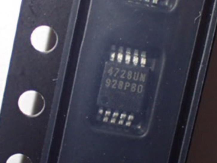 new Mcp4728-E/UN Mcp4728  4728UN msop-10 10pcs