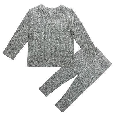 nervuras com calças macio manga longa primavera outono inverno menino