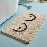 Fluffy Bathmat Bathroom Rug Bath Tub Side Carpet Function Entrance Mats Floor Mat Anti Slip Rugs Home Decor Rugs for Bedroom