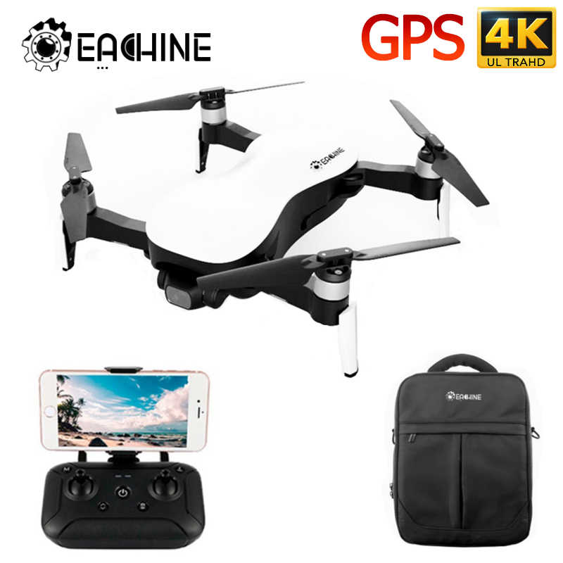 Eachine EX4 5G WIFI 1.2KM FPV GPS עם 4K HD מצלמה 3-ציר יציב Gimbal 25 דקות זמן טיסה RC מזלט Quadcopter RTF VS X12