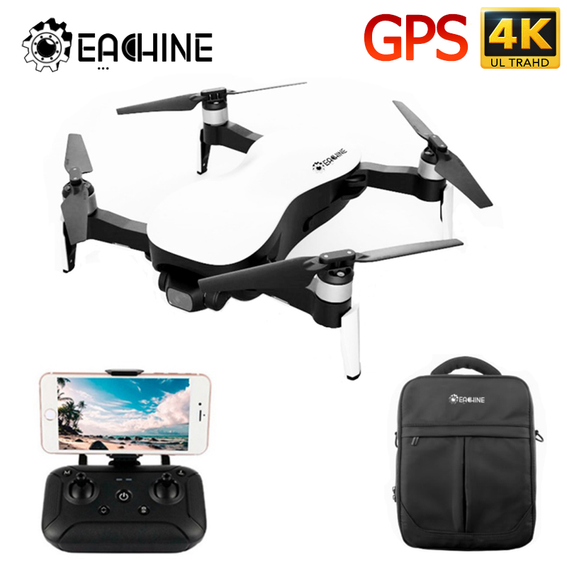 Eachine EX4 RC Quadcopter Drone Helicopter 5G WIFI FPV GPS 4K Profesional HD Camera 3-Axis Stable Gimbal RTF VS X12 Racing Dron