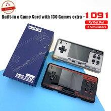 2020 handheld game console de jogos de vídeo 8 bit 2g memória simulador fc3000 handheld crianças jogo cor pxpx7