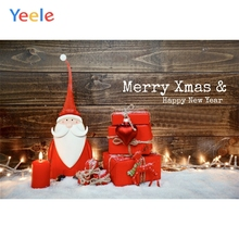 Yeele Christmas Photocall Snow Old Wood Doll Gifts Photography Backdrops Personalized Photographic Backgrounds For Photo Studio yeele christmas photocall candy old wood gift decor photography backdrops personalized photographic backgrounds for photo studio
