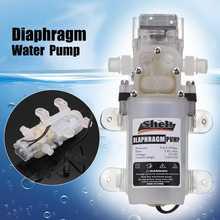 DC 12V 60W Lebensmittel Grade selbstansaugende Membran Wasserpumpe mit Schalter Hochdruck Wasserpumpe
