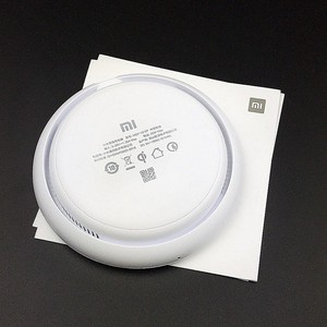 Image 2 - Original Xiaomi wireless Charger 20w 27w 15v For XiaoMi mi 9 mi x 2S mi x 3 qi Epp (10w) FOR Iphone xs XR XS MAX MULTIPLE Secure