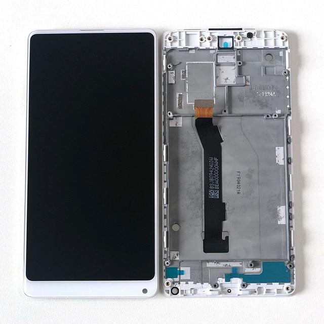 """Original M & Sen 5.99 """"Für Xiao mi mi mi x 2 ROM 8GB Volle Cera mi c Unibody Version lcd Display + Touch Panel Digitizer Rahmen"""
