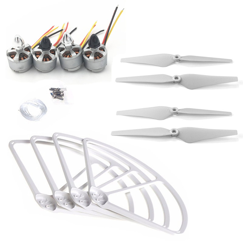 Phantom 2 2212 920KV Brushless Motor CW CCW RC Quadcopter 9443 Propeller Guard Bumper 9443 Blades Protector For DJI Phantom 2