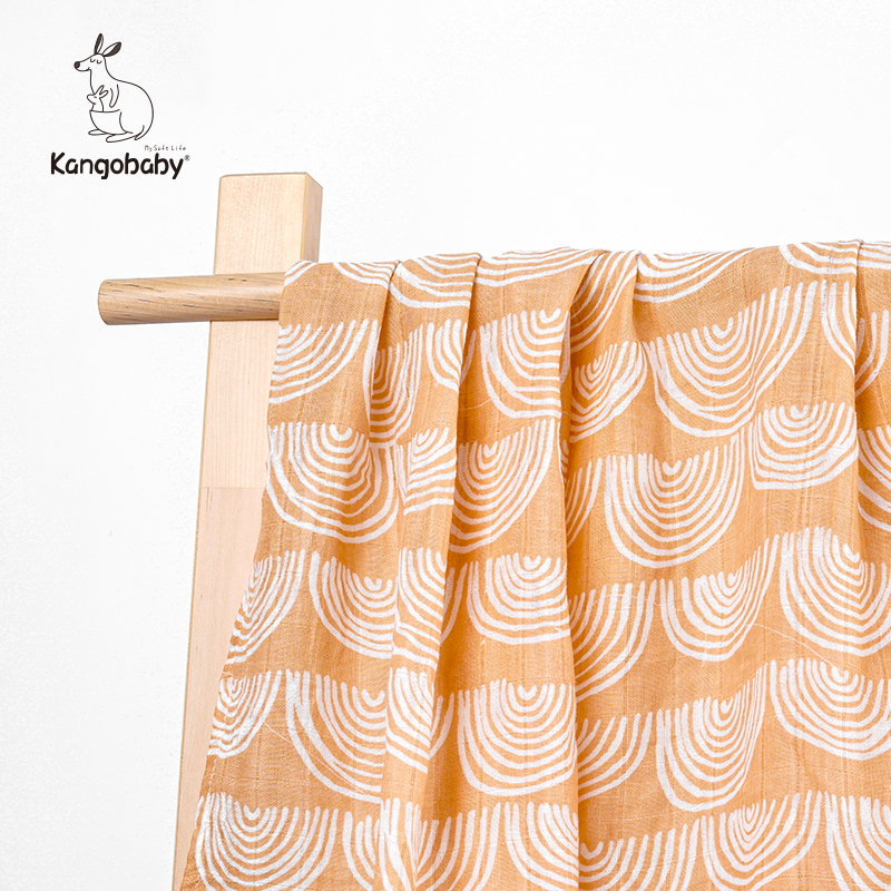 Kangobaby Baby Blanket Baby Carriage Cover Muslin Sawddle  1 Piece
