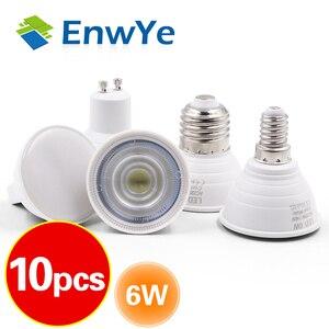 10pcs LED Light GU10 MR16 GU5.3 E27 E14 Bulb 2W 3W 4W 5W 6W 220V Lampada LED Condenser lamp Diffusion Spotlight Energy Saving(China)