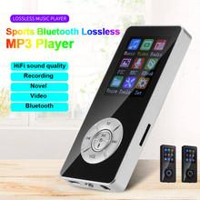 Bluetooth MP3 odtwarzacz mediów FM Radio z nagrywaniem HIFI sportowe głośniki muzyczne odtwarzacz Walkman odtwarzacz wideo 1 8 cal ekran odtwarzacz muzyczny A50 tanie tanio Hxroolrp 1 8 inches Bateria litowa Dyktafon E-czytanie książki Radio FM Przeglądarka zdjęć 10 godzin 1 8 cali mp3 player