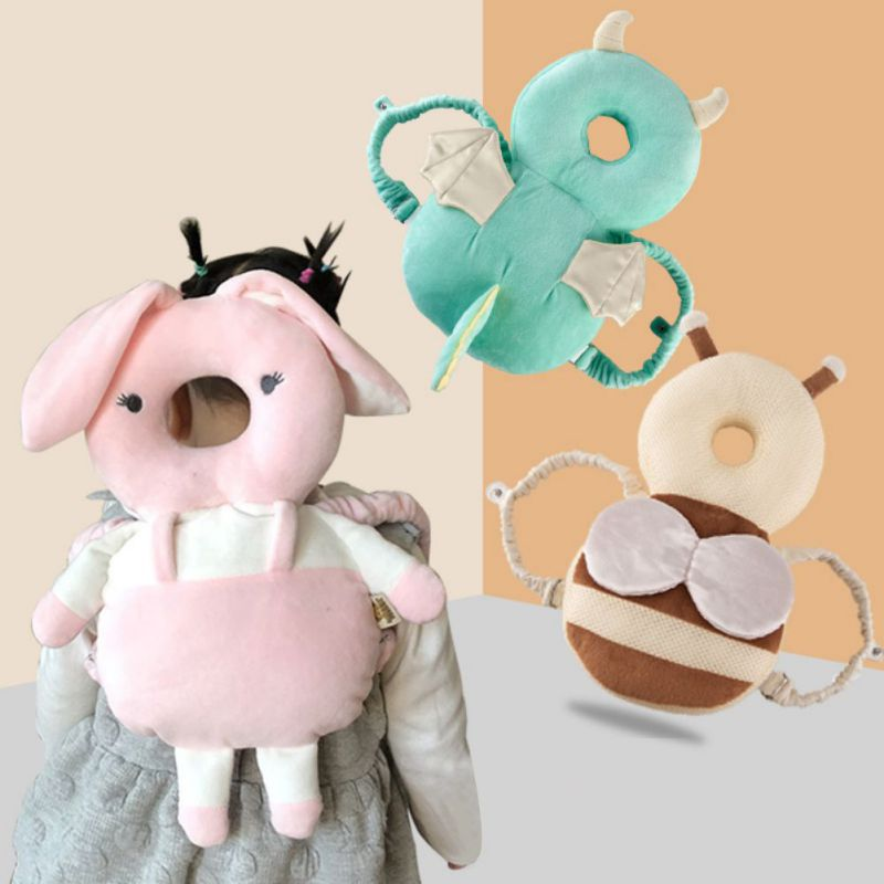 Newborn Baby Head Pillow Infant Toddler Sleep Positioner Cute Cartoon Baby Anti Fall Cushion Head Pillow Protection Safety