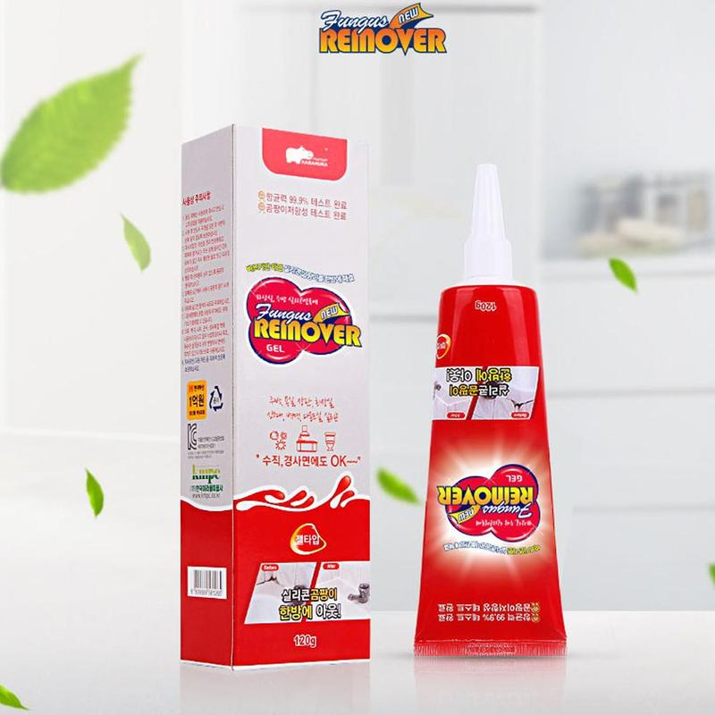Household Tile Cleaner Deep Down Wall Mold Mildew Remover Cleaner Antibacterial Gel Bathroom Kitchen Countertop