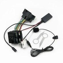 Biurlink rcd310 rcd510 rns510 rádio bluetooth 5.0 microfone handsfree cabo de fiação para volkswagen carro