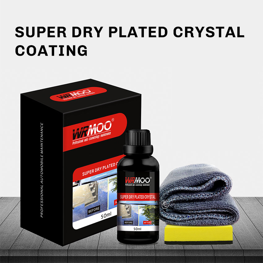 9H Fast Dry Crystal Coating Super Hydrophobic Car Liquid Kit  Nano Ceramic Car Liquid Oxidation Paint Care Auto Detailing