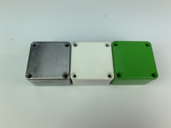 White/Slive/Red/Green1590LB small effectors hammond aluminum box 50.5X50.5X31mm