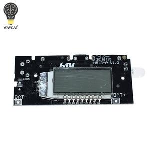 Image 2 - 2 Cổng USB 5V 1A 2.1A Điện Di Động Ngân Hàng 18650 Pin Sạc PCB Mô Đun Nguồn Phụ Kiện Cho Điện Thoại Tự Làm Mới LED Module LCD Ban