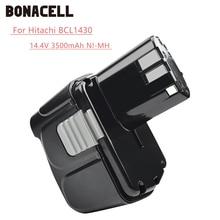 Bonacell 14.4V 3500mAh For Hitachi BCL1430 Battery CJ14DL DH14DL EBL1430 BCL1415 Li-ion L30