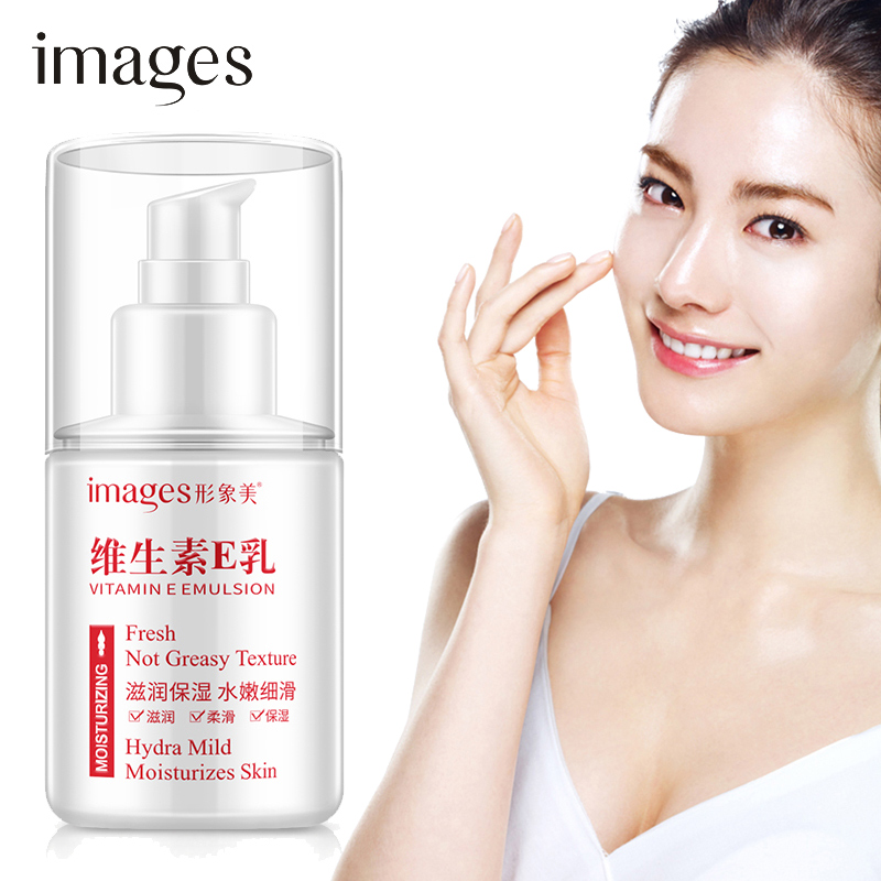 Vitamin E Face Moisturizing Emulsion Daily Face Lotion Anti Wrinkle Brighten Firming Lifting Oil-control Skin Care IMAGES