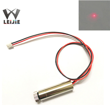 Focusable Adjustable 650nm 250mW High Power 12*45mm 3V-4.5V XH2.54 Terminal Connector Red DOT Laser Module12mm LED LD Module