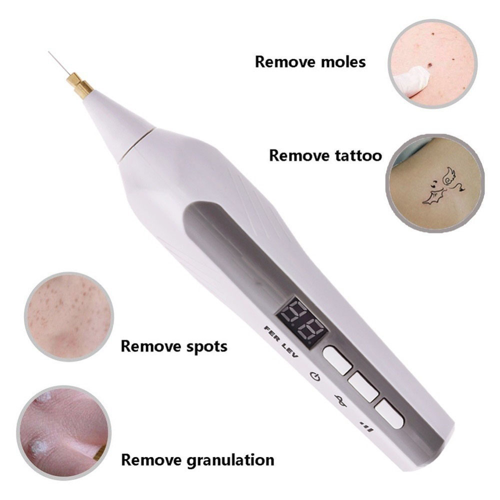 Black Spot Removal Plasma Pen for Eyelid Lifting Freckle Wrinkle Mole Removal Ionic Spot Pen Skin Scares Reckles in Face Skin Care Tools from Beauty Health