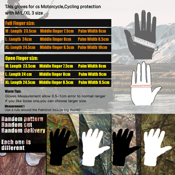 Camouflage Fishing Gloves Hunting Gloves Anti-Slip 2 Fingers Cut Outdoor Camping Cycling Half Finger Sport Gloves Camo 2