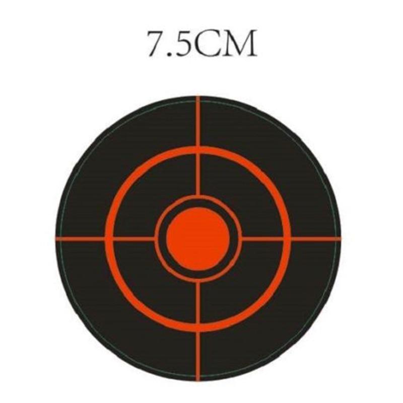 Diameter 7.5Cm 250Pcs/Roll Splatter Target Shoot Practice Stickers Set Accessory