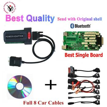 New VD TCS CDP PRO Plus 2016.00 keygen with Bluetooth Single Board vd ds150e cdp for Delphis cars&trucks OBD2 Diagnostic Tool