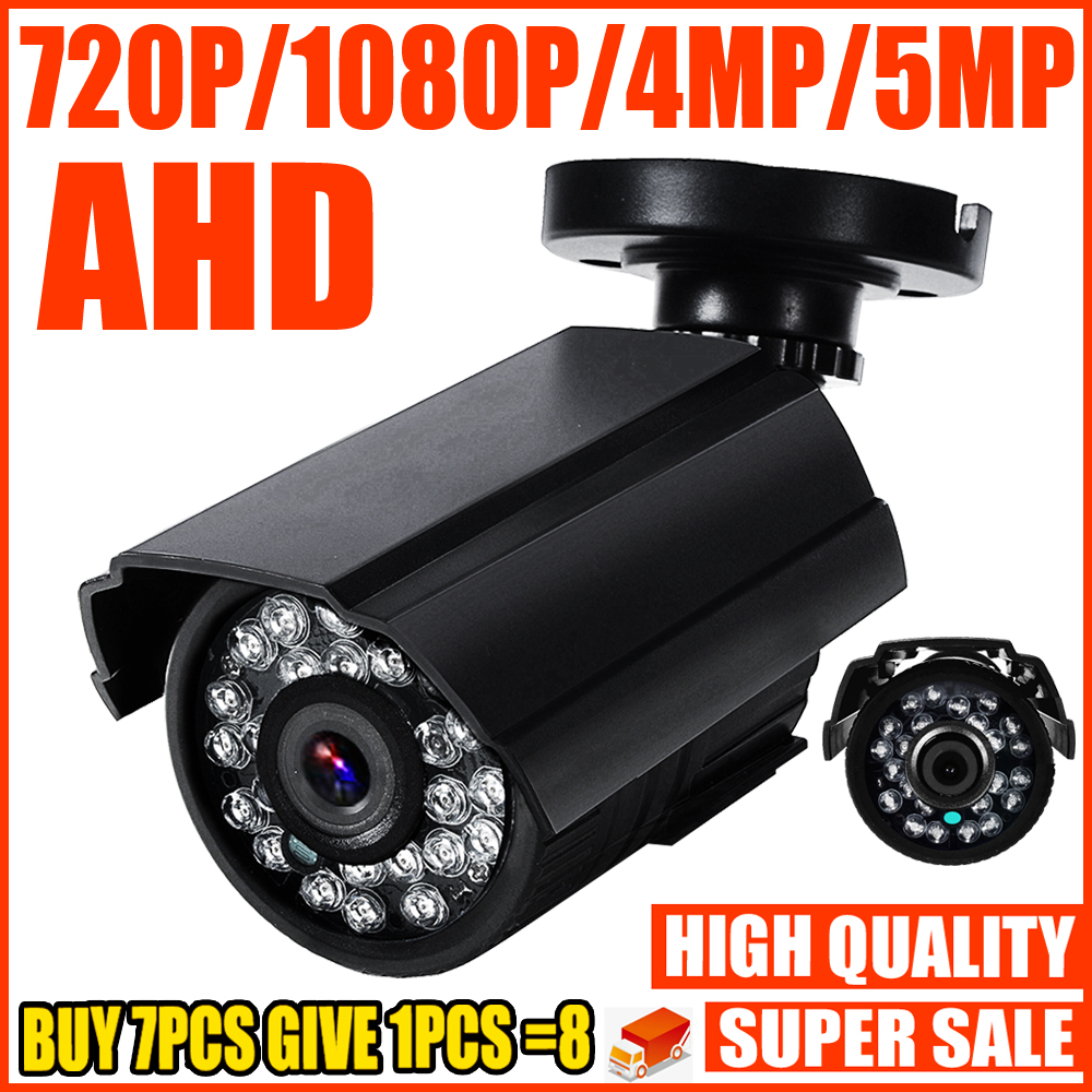 REAL SONY-IMX326 720P 1080P 4MP 5MP AHD MINI CAMERA 2.0MP Digital FULL HD CCTV Security Surveillance Home In/Outdoor Waterproof