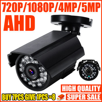 REAL SONY-IMX326 720P 1080P 4MP 5MP AHD MINI CAMERA 2.0MP Digital FULL HD CCTV Security Surveillance home in/Outdoor Waterproof - discount item  50% OFF Video Surveillance