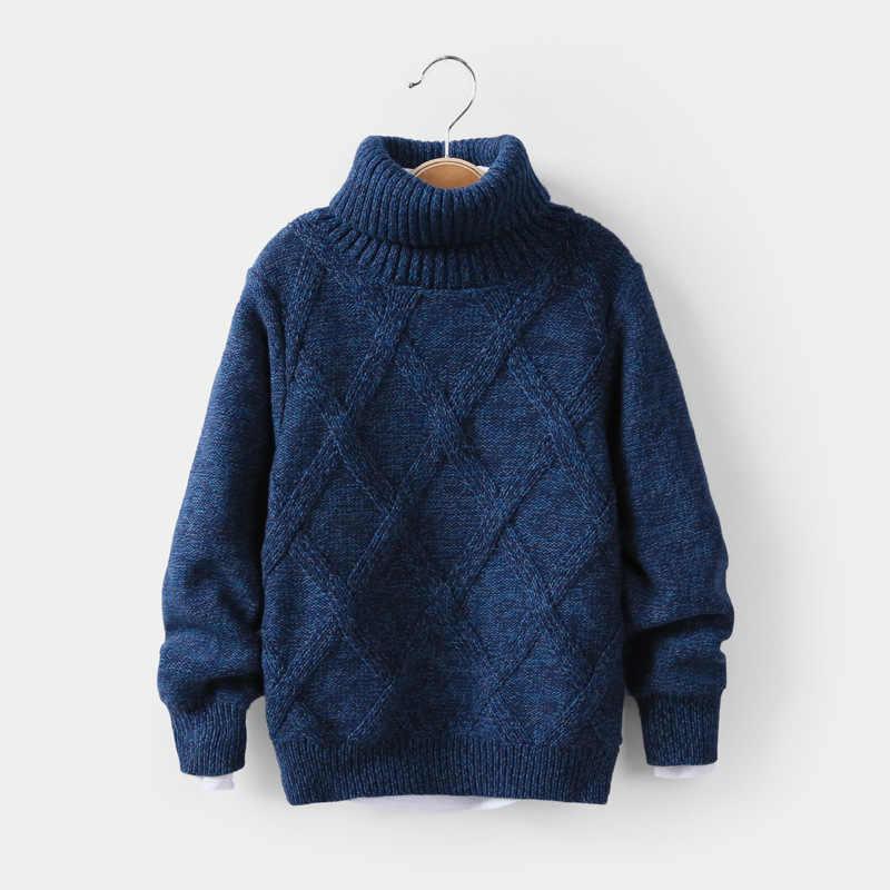 Kinder Jungen Sweatshirt Herbst Winter Warme Pullover Langarm Gedruckt Autos Gestrickt Pulli