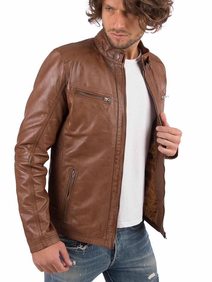 H7ee53efa9ae841abb9c0d7cc48fb528ei VAINAS European Brand Mens Genuine Leather jacket for men Winter Real sheep leather jacket Motorcycle jackets Biker jackets Alfa