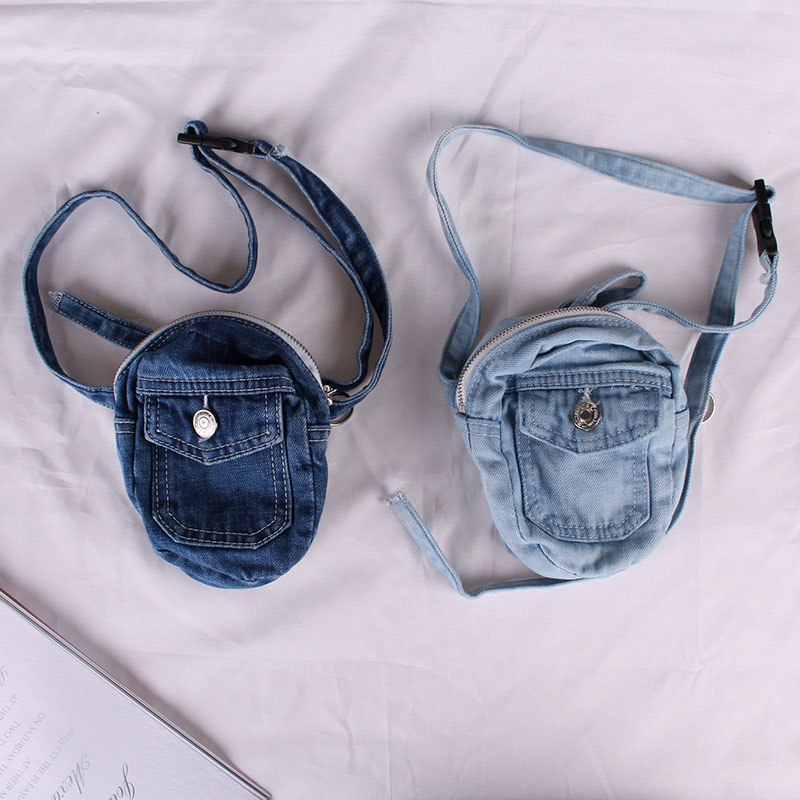 New Vintage Jeans Waistband, Women's Small Casual Slant Bags, Old Handbags And Mini Backpacks